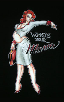 Who's Your Mama Maternity Shirt