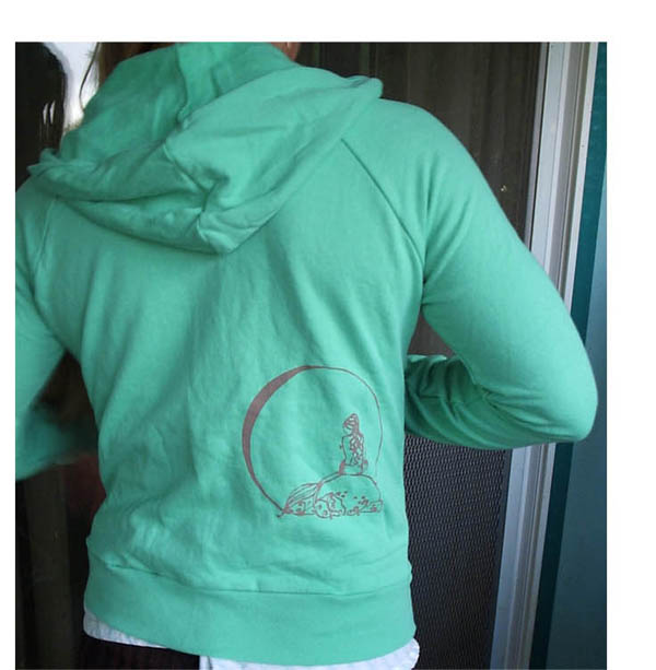Mermaid Fleece Hoodie