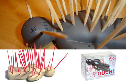 Ouch-The Voodoo Doll Toothpick Holder