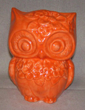 Ceramic Owl Garden Planter
