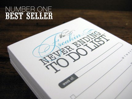 to do list notepad. No worries, this Freakin To Do List Notepad by Finch & Hawk Paper Goods