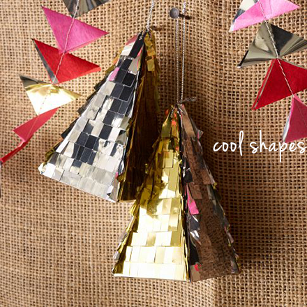 confetti system west elm ornaments triangles