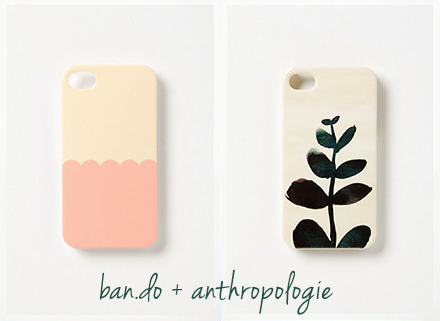 ban.do anthropologie phone cases