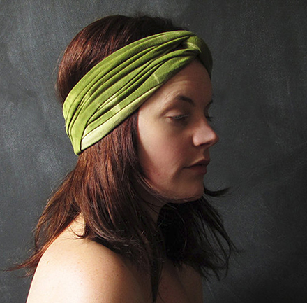 bees'netta dyed turban headband 2