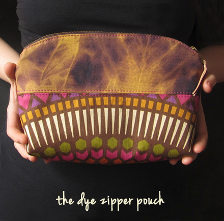 bees'netta the dye zipper pouch