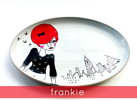 betty raspberry frankie serving plate