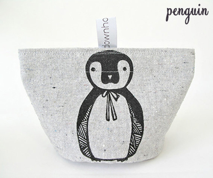 down home amy penguin snack pouch