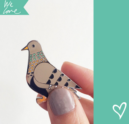 scout editions petit pigeon pin