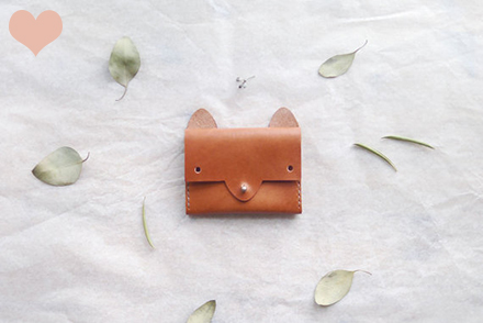 small queue fox wallet