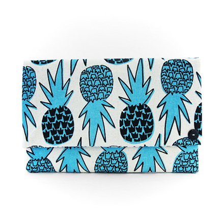 jana lam pineapple clutch