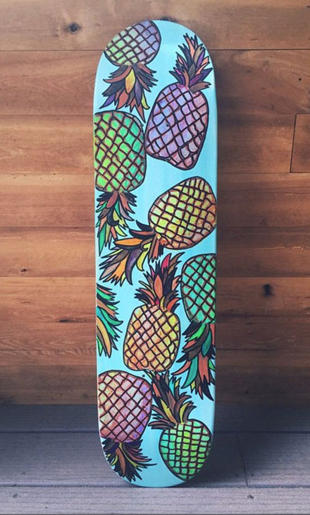 lava boards pinapple