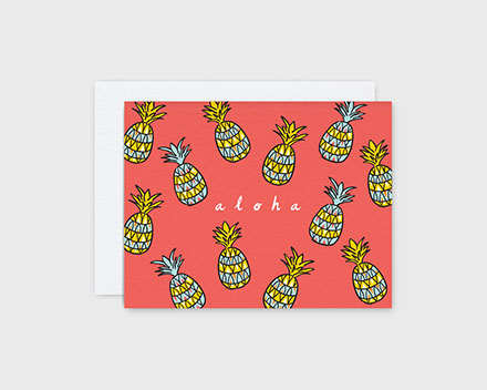 nico made pineapple card
